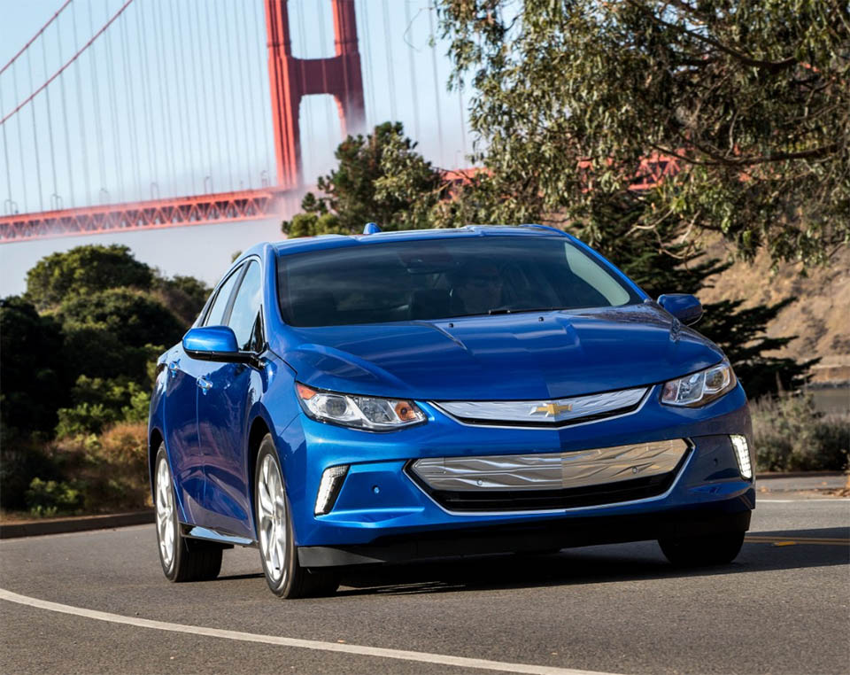 Chevy First to Sell 100k Plug-in Electric Vehicles in U.S.