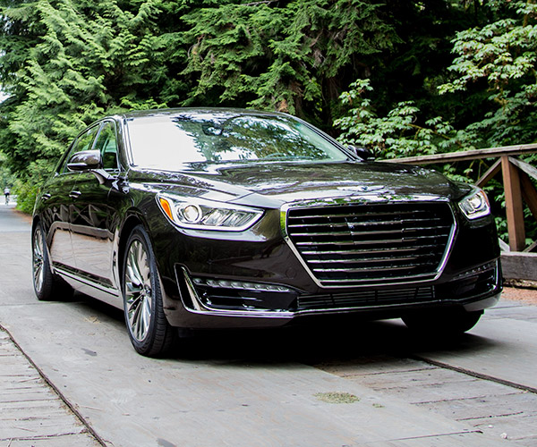 First Drive Review: 2017 Genesis G90