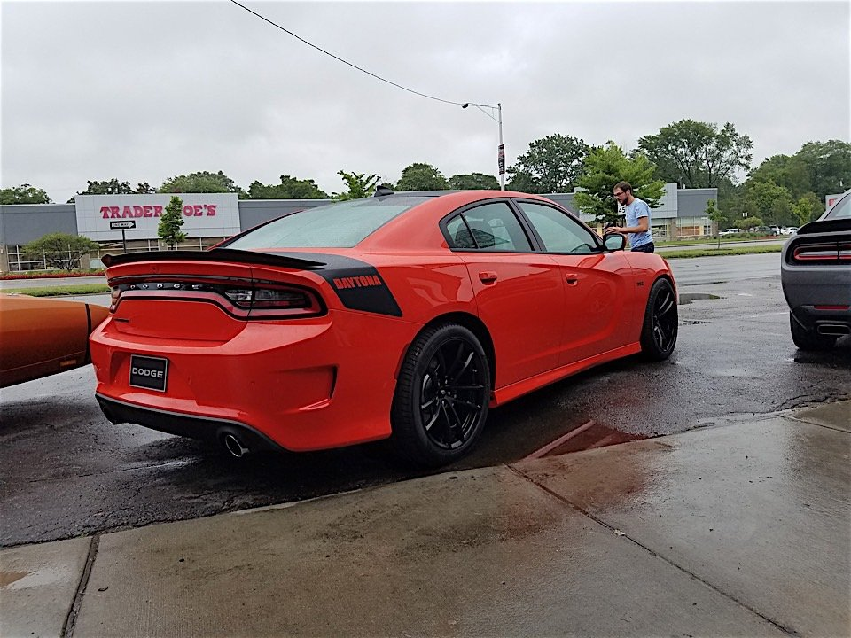 2017 Dodge Charger Daytona Adds a Touch More Hellcat - 95 Octane