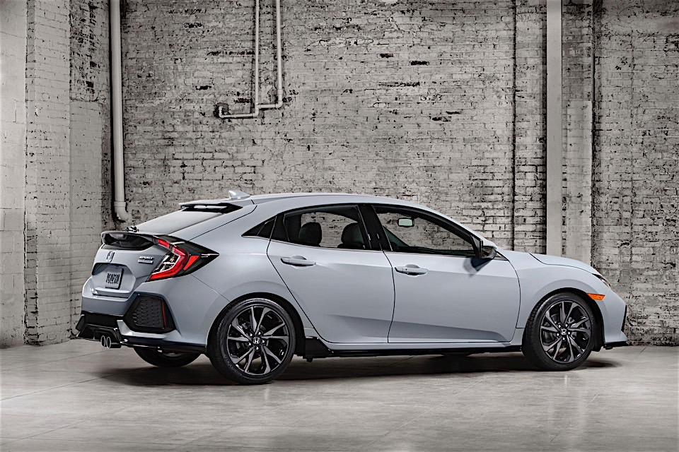 Row Your Own Turbo Power with the New Honda Civic Hatchback