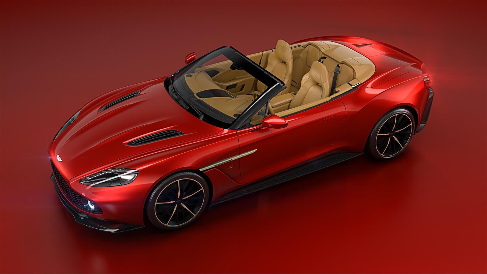 Aston Martin Vanquish Zagato Volante Drops Top for Pebble Beach