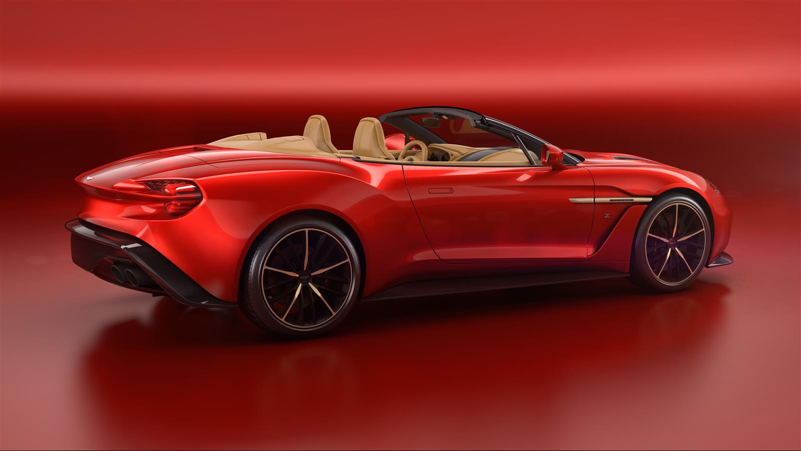 Aston Martin Vanquish Zagato Volante Drops Top for Pebble ...