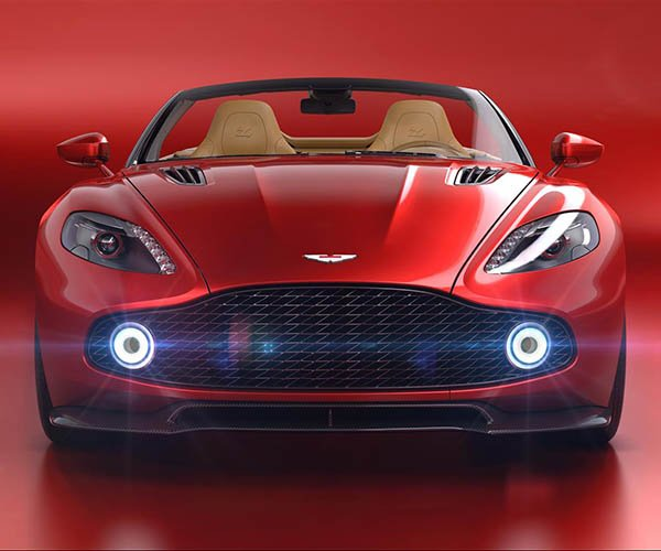 Aston Martin Vanquish Zagato Volante Drops Top for Pebble Beach