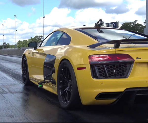 Underground Racing Audi R8 Does 9-second Quarter Mile
