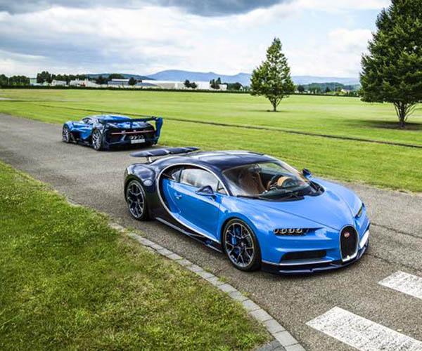 Saudi Prince Buys Two Special Bugattis