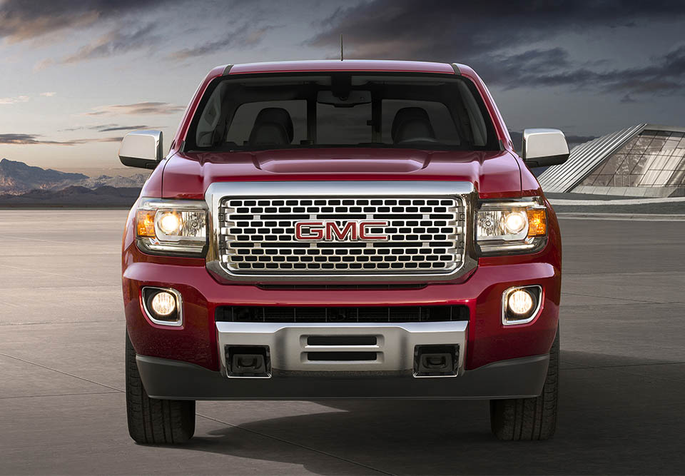 2017 GMC Canyon Gets Denali and All Terrain X Models - 95 ...
