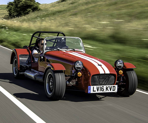 Used Caterham 7 For Sale: Caterham Seven Spirit Is A '60s Seven That Never Happened
