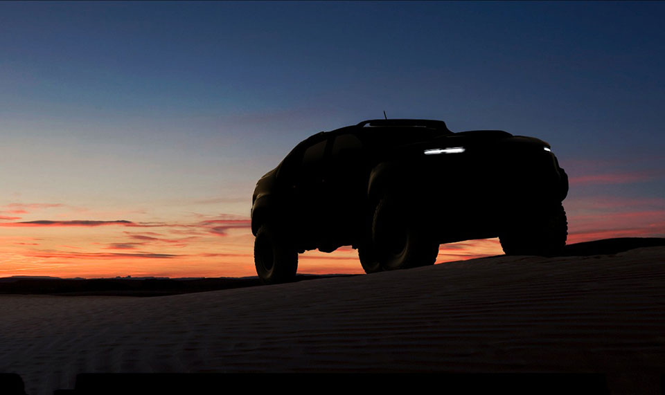 Chevy Colorado-based Military Spec Fuel Cell Truck Teased