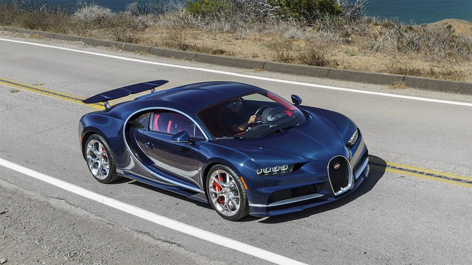 200 Lucky SOBs Have Already Ordered a Bugatti Chiron