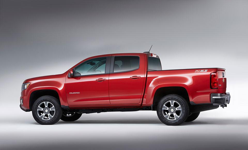 2017 Chevrolet Colorado Gets New V6 and 8-Speed Auto