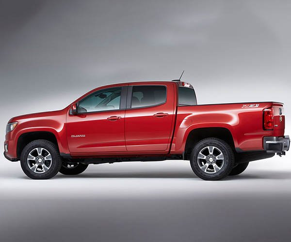 2017 Chevrolet Colorado Gets New V6 and 8-Speed Auto