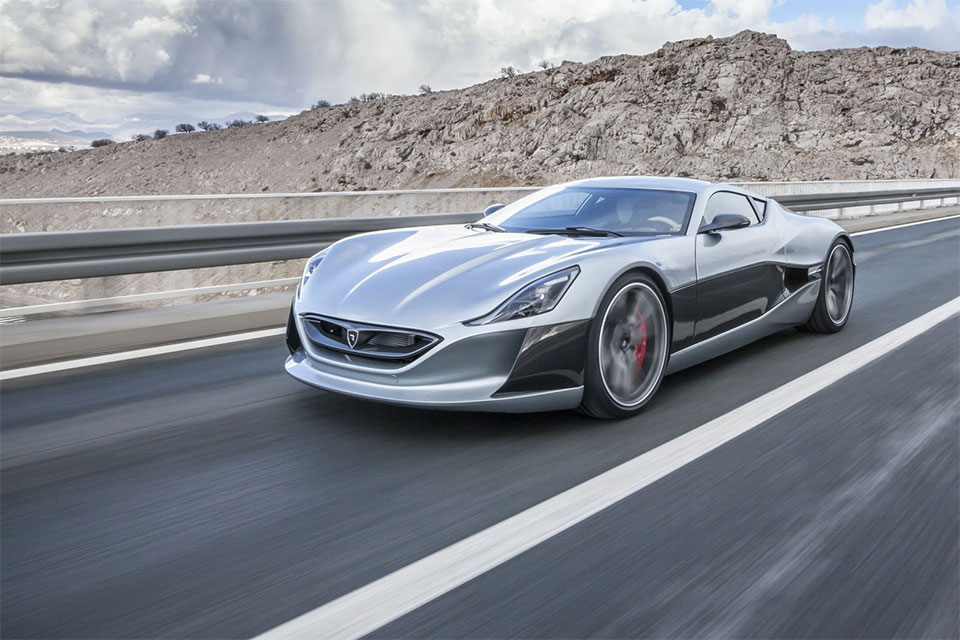 Rimac Concept One vs. LaFerrari vs. Tesla P90D