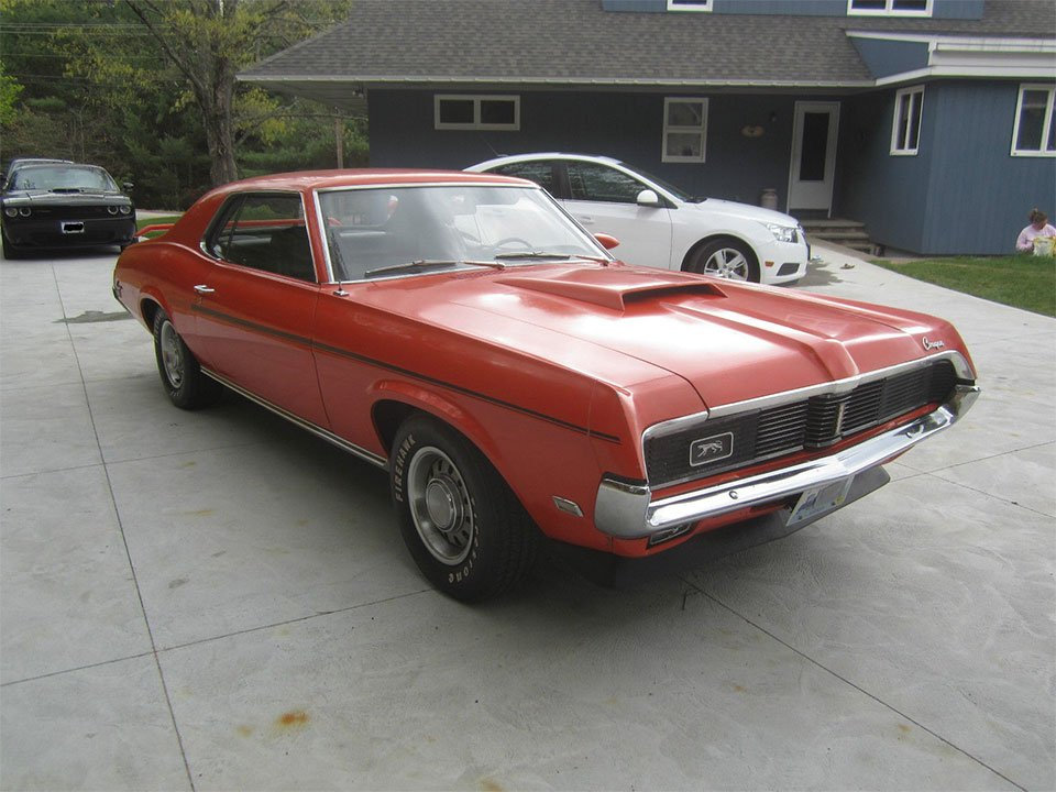 Toyota Of Orange >> This 1969 Mercury Cougar Eliminator Is Muscle Car Survivor - 95 Octane