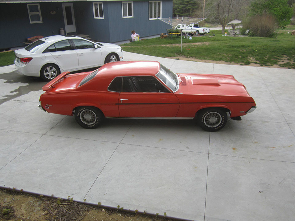 This 1969 Mercury Cougar Eliminator Is Muscle Car Survivor - 95 Octane