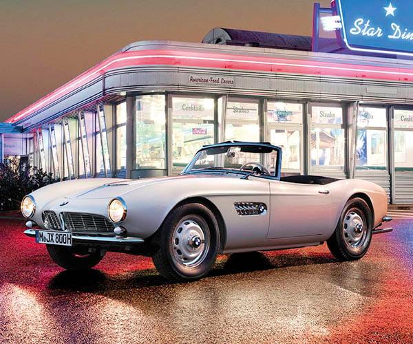 BMW Restores Elvis' BMW 507: Viva Concours d'Elegance!