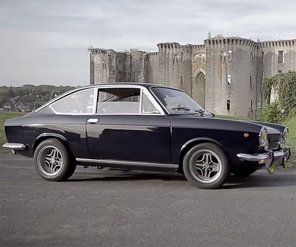Fiat 850 Sport: Fit for a Show at a Famous French Castle