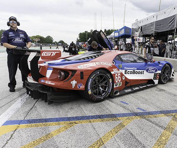 Up Close with The Ford GT LM Race Cars
