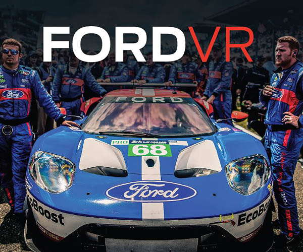Take a VR Spin in the Ford GT at Le Mans