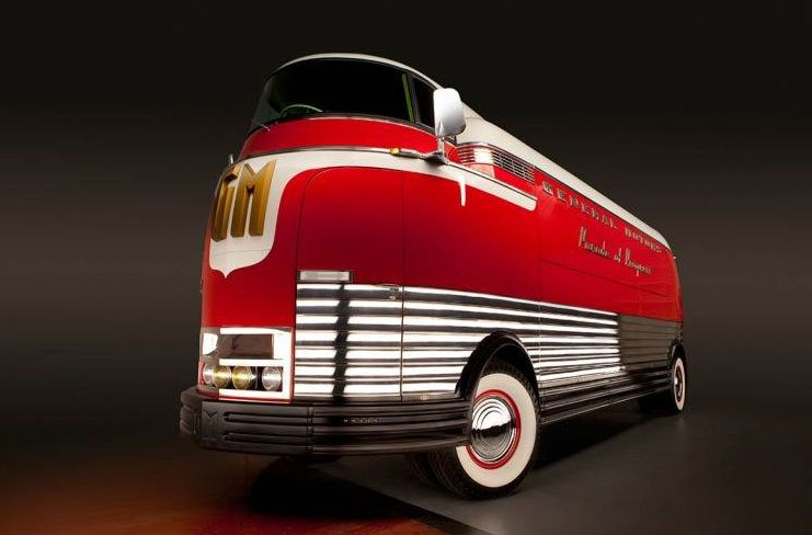 Rare 1939 General Motors Futurliner Bus Heads to Auction