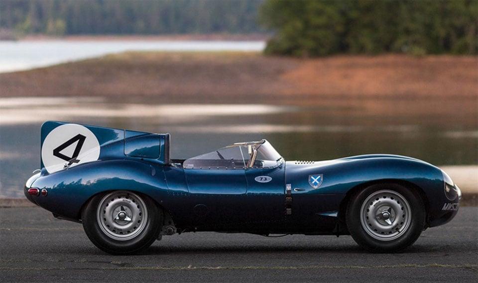 jaguar d type sets british car record at auction 95 octane. Black Bedroom Furniture Sets. Home Design Ideas