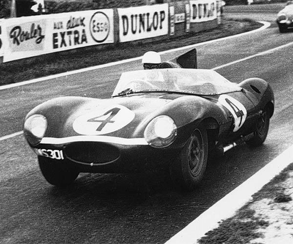 Jaguar D-Type Sets British Car Record at Auction