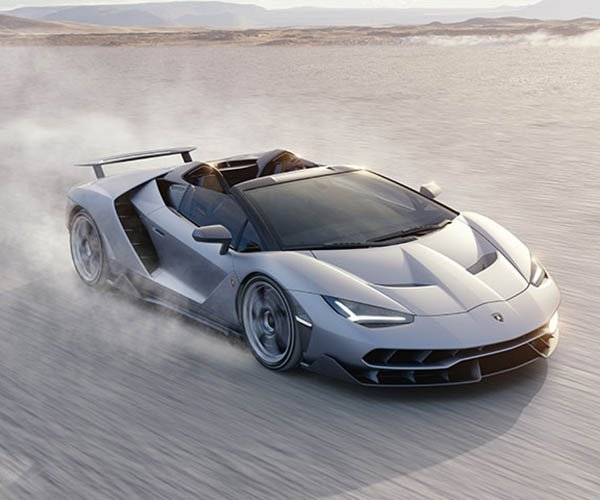 Lamborghini Centenario Roadster Debuts, Already Sold Out