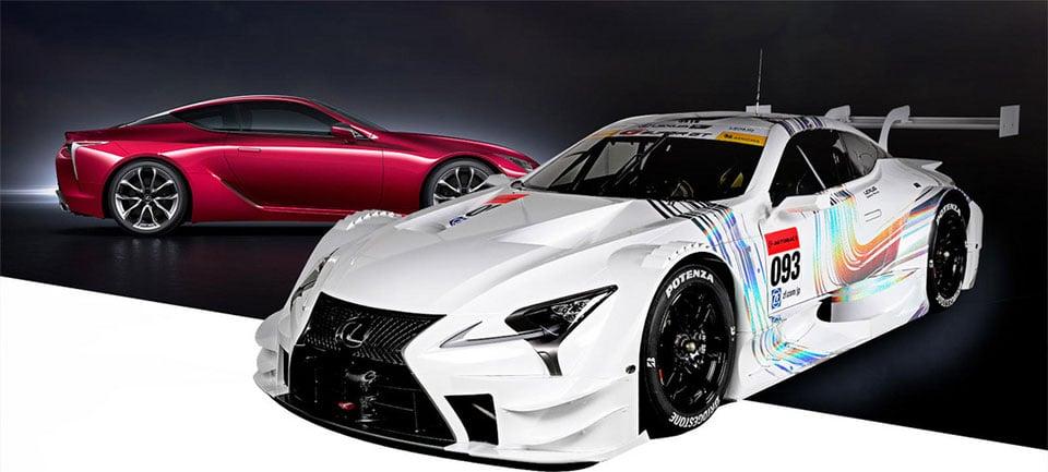 Lexus Unveils LC 500 Super GT Racecar