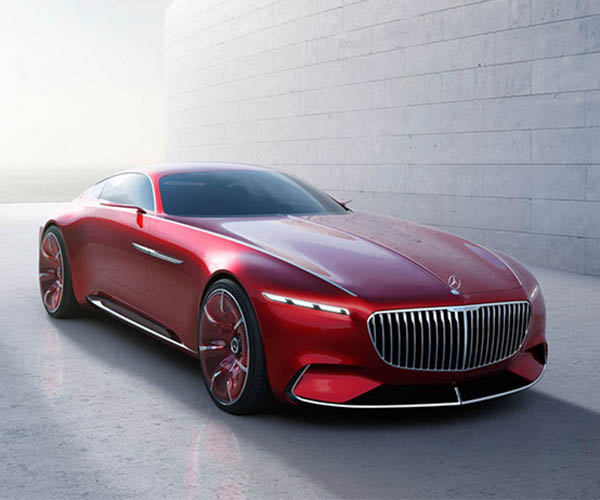 Vision Mercedes-Maybach 6 Concept Images Get Official