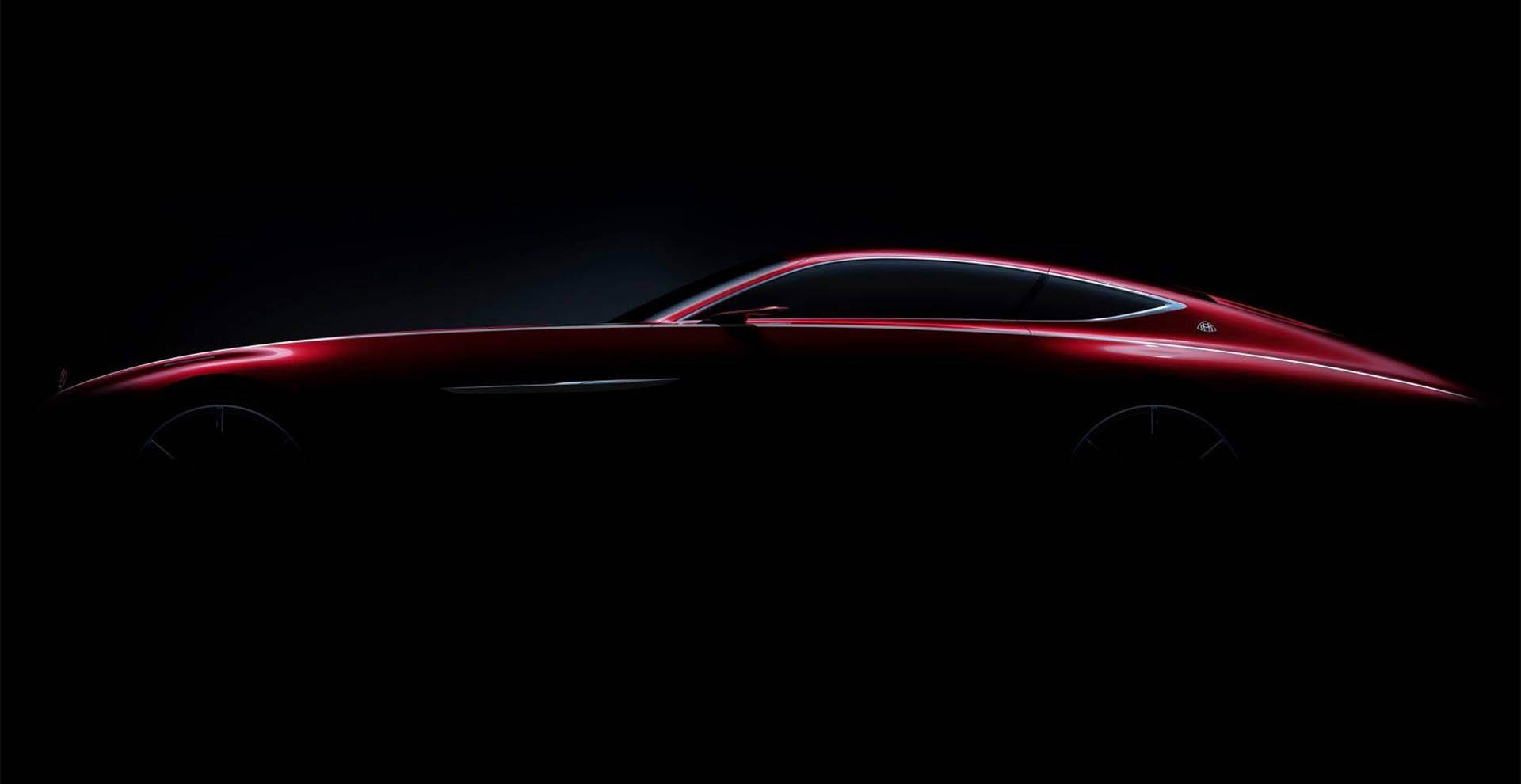 Mercedes Maybach Coupe Concept is Nearly 20-feet Long