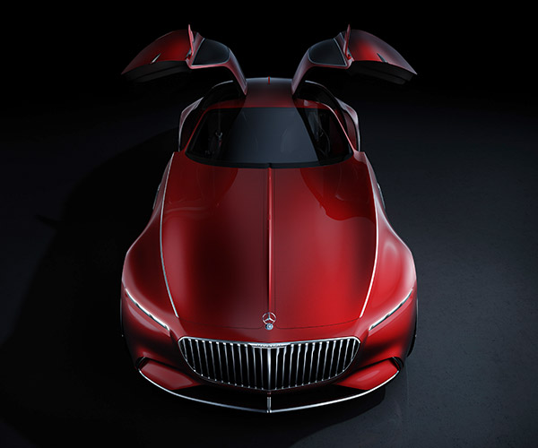 Vision Mercedes-Maybach 6 Drivetrain Specs Revealed