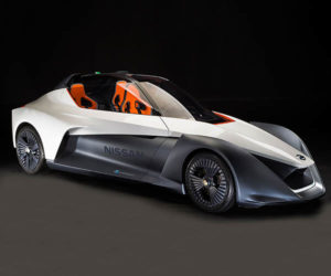 Nissan BladeGlider Electric Sports Car: Pointy, but Powerful