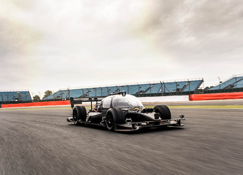 Roborace DevBot Self-driving Race Car Test Mule Breaks Cover