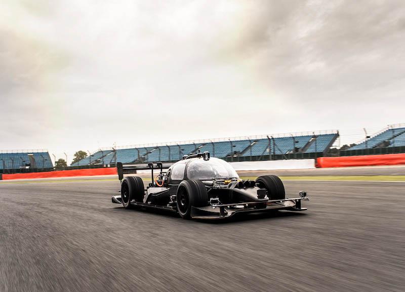 Roborace DevBot Self-driving Race Car Test Mule Breaks Cover