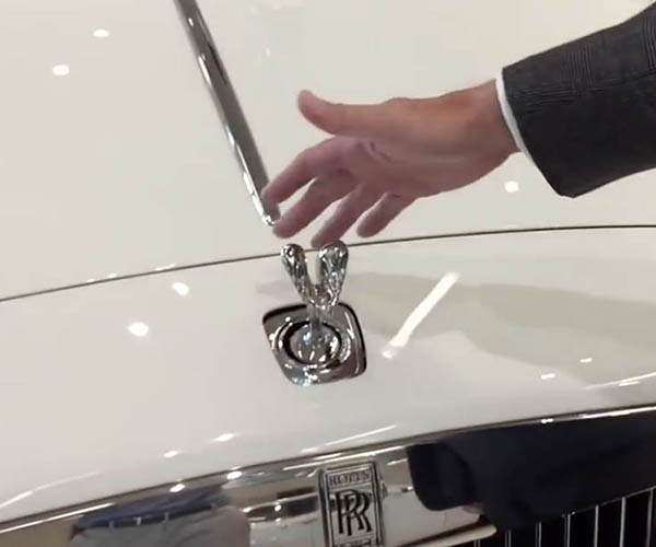 You Can't Steal the Spirit of Ecstasy