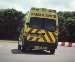 Sebastian Vettel Races an Ambulance Against a Ferrari