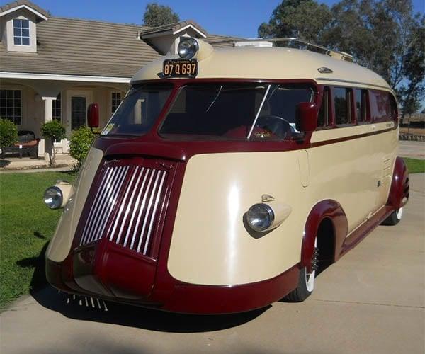 Brooks Stevens 1941 Western Flyer RV is the Coolest Camper
