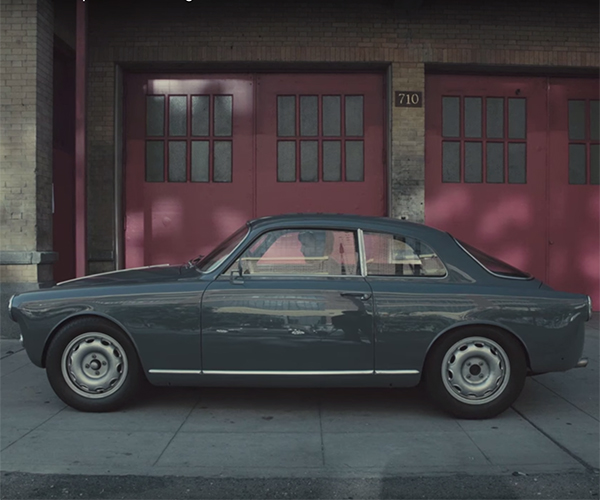 This Alfa Giulietta Sprint Is a Cannon Blast to Drive