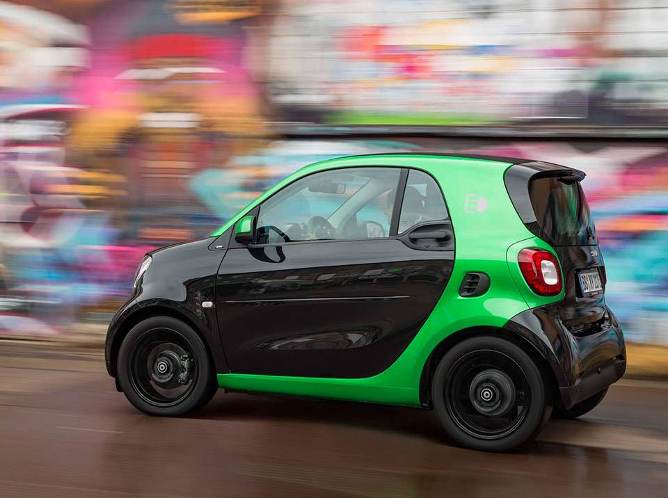 2017 Smart Fortwo Electric Drive Heads To Paris 95 Octane