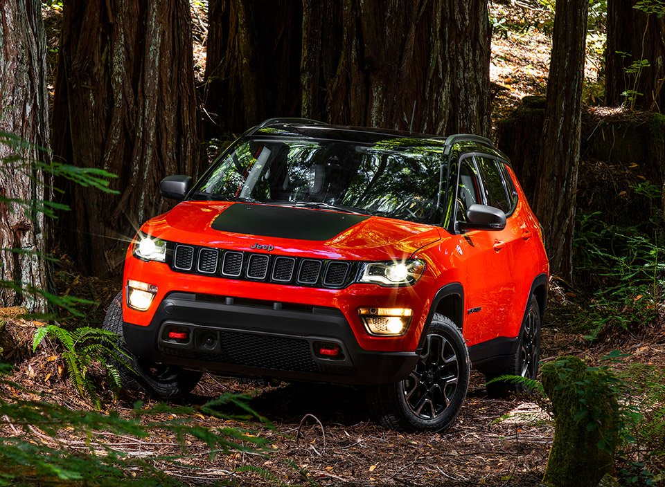 New 2017 Jeep Compass Looks Like a Baby Grand Cherokee