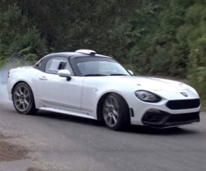 Fiat 124 Abarth R GT Rally Car is the Angriest Fiata
