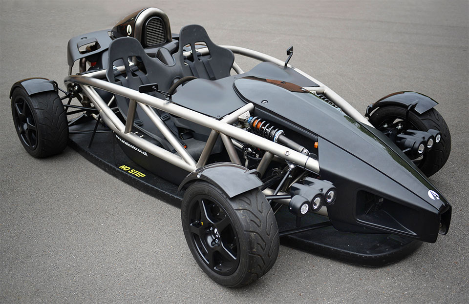 Ariel AERO-P Ups Downforce with Banned F1 Tech