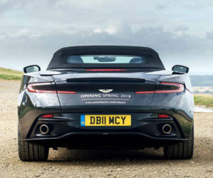 Aston Martin DB11 Volante Teased Far Ahead of 2018 Launch