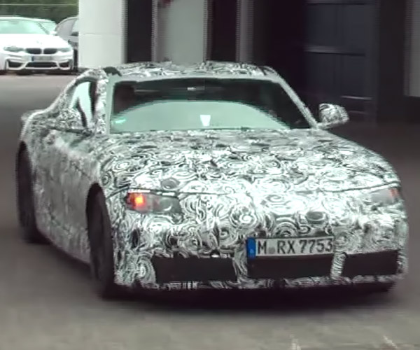 Alleged Toyota Supra Mule Caught on Video, Sounds Great