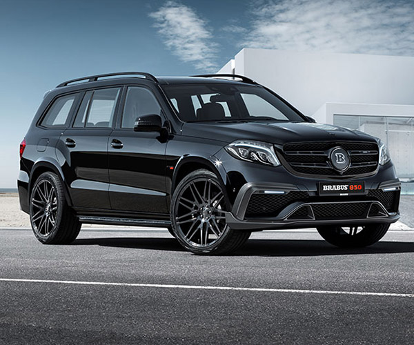 Brabus 850 XL is a Family Hauling Axe Murderer