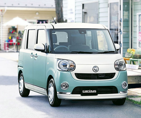 Daihatsu Canbus is One Adorable Minivan