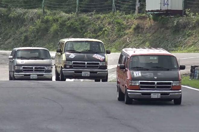 Dodge Van Racing is Japan at its Coolest