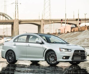 Mitsubishi Auctioning Off Last Lancer Evo to Feed the Hungry
