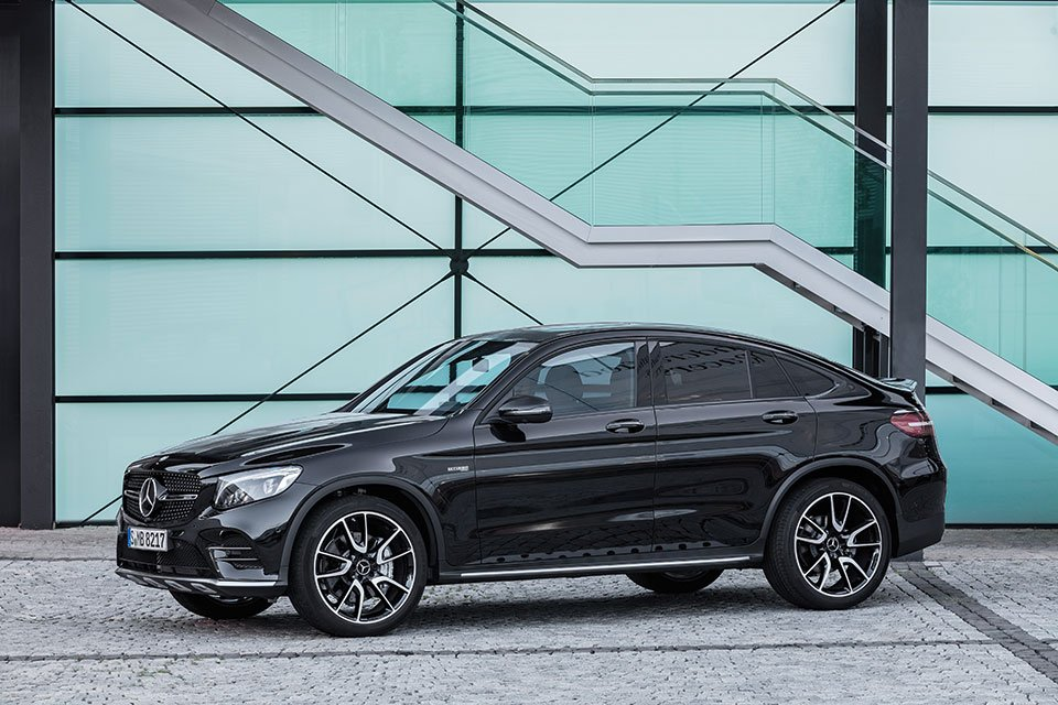 Mercedes-AMG GLC43 Coupe Is One Powerful Crossover