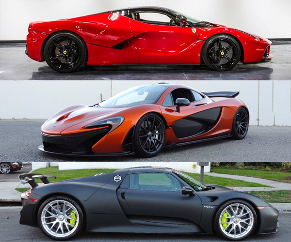 McLaren P1, Ferrari LaFerrari, Porsche 918 Spyder – All on eBay