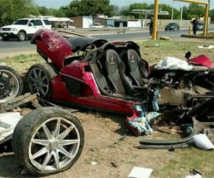 Koenigsegg CCX in Horrible Wreck, Safety Tech Saves Lives